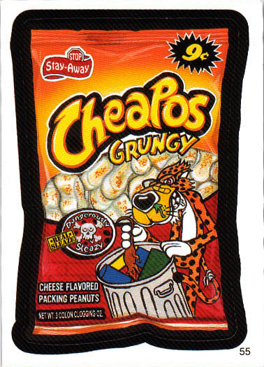 Wacky Packages Cheapos